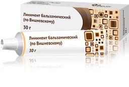 Линимент бальзамический (по Вишневскому), 3 г+3 г, линимент, 30 г, 1 шт.