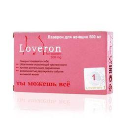 Лаверон для женщин, 500 мг, капсулы, 1 шт.