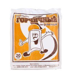 Компресс-горчичник Клинса согревающий, 20 шт.