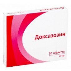 Доксазозин, 4 мг, таблетки, 30 шт.