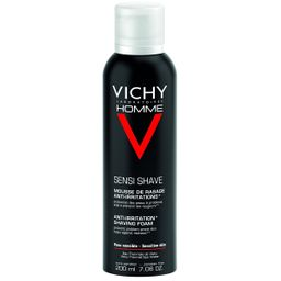 Vichy Homme пена для бритья против раздражения кожи, пена для бритья, мужские, 200 мл, 1 шт.
