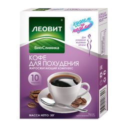 Худеем за неделю Кофе для похудения, напиток, 3 г, 10 шт.