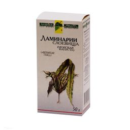 Ламинарии слоевища - морская капуста, сырье растительное измельченное, 50 г, 1 шт.