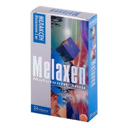 Мелаксен, 3 мг, таблетки, покрытые оболочкой, 24 шт.