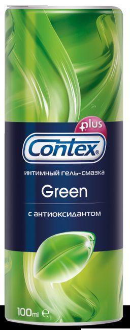 Гель-смазка Contex Green, гель, антибактериальный (-ая; -ое; -ые), 100 мл, 1 шт.