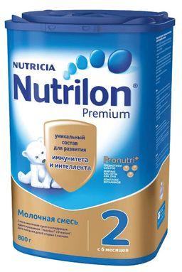 Nutrilon 2 Premium, смесь молочная сухая, 800 г, 1 шт.