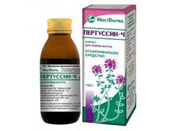 Пертуссин-Ч, сироп, 125 г, 1 шт.