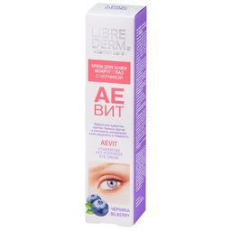 Librederm Аевит крем для кожи вокруг глаз, крем для контура глаз, 20 мл, 1 шт.