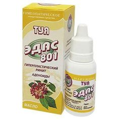 Эдас-801 Туя, масло для наружного применения, 15 мл, 1 шт.