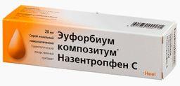 Эуфорбиум Композитум Назентропфен С, спрей назальный гомеопатический, 20 мл, 1 шт.