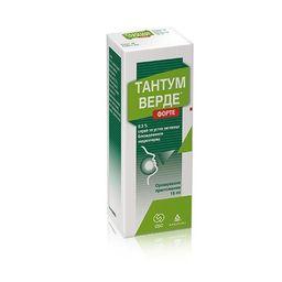 Тантум Верде форте, 0.51 мг/доза, спрей для местного применения дозированный, 15 мл, 1 шт.