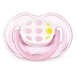 Соски-пустышки Philips Avent Design для девочки, 1 шт.