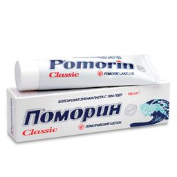 Pomorin Classic Зубная паста без фтора, паста зубная, 100 г, 1 шт.