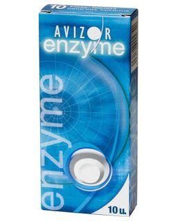 Avizor Enzyme Таблетки для уходу за контактными линзами, таблетки для приготовления раствора для местного применения, 10 шт.
