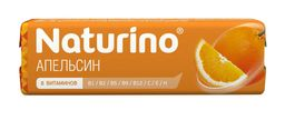Натурино пастилки с витаминами и натуральным соком, 4.2 г, пастилки, со вкусом или ароматом апельсина, 8 шт.