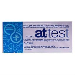 Attest Тест на беременность, 1 шт.