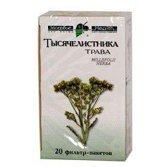 Тысячелистника трава, сырье растительное-порошок, 1.5 г, 20 шт.