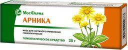 Арника, мазь для наружного применения гомеопатическая, 30 г, 1 шт.