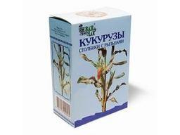 Кукурузы столбики с рыльцами резано-прессованные, сырье растительное измельченное, 50 г, 1 шт.