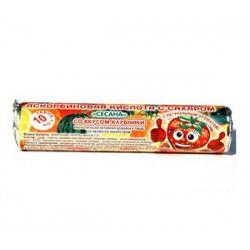 Аскорбиновая кислота с сахаром Сесана, 2.9 г, таблетки жевательные, со вкусом клубники, 10 шт.