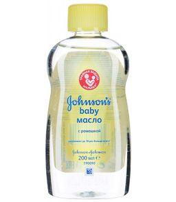 Johnson's baby Масло детское, масло для детей, с экстрактом ромашки, 200 мл, 1 шт.