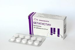 Бетагистин, 24 мг, таблетки, 20 шт.