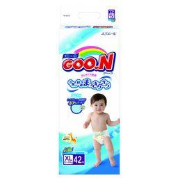 Подгузники детские GOON, 12-20 кг, XL, для мальчиков, 42 шт.