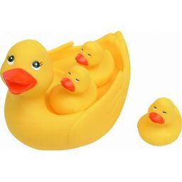 Мир детства игрушка для ванной Уточка с утятами, арт. 25072, 1 шт.