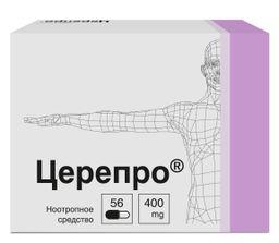 Церепро, 400 мг, капсулы, 56 шт.